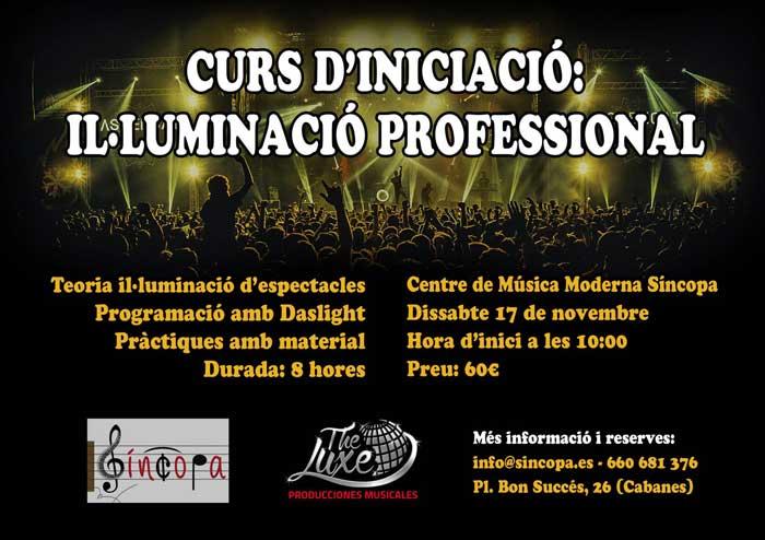 Curs d'il.luminació professional: Iniciació